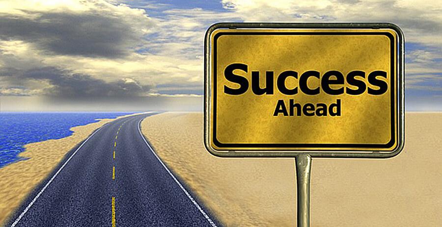 ser bem-sucedido